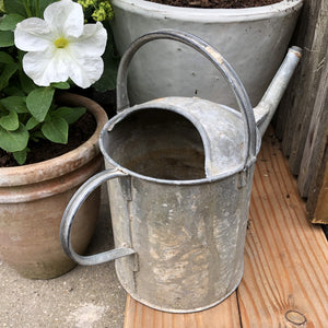 Vintage Galvanised Watering Can