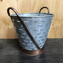 Load image into Gallery viewer, Vintage Olive Bucket