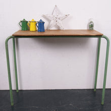 Load image into Gallery viewer, Children's green legged table