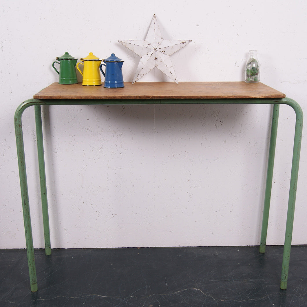 Children's green legged table