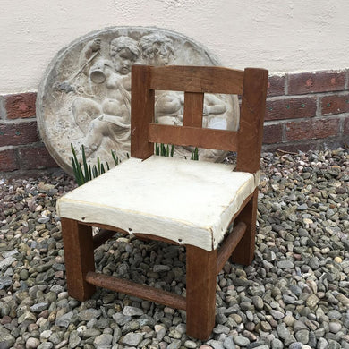 Child's Vintage African Chair