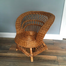 Load image into Gallery viewer, Child's Wicker Chair