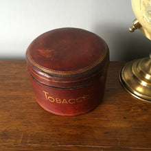 Load image into Gallery viewer, Old Leather Tobacco Pot