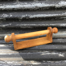 Load image into Gallery viewer, Mid Century Wooden Towel Rail