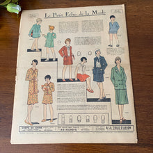 Load image into Gallery viewer, 1930 French Fashion Magazine - 11