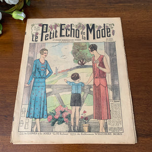 1930 French Fashion Magazine - 28