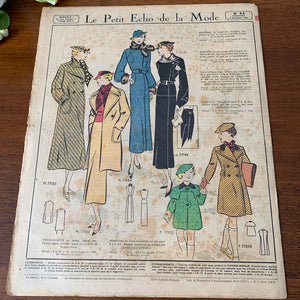 1935 French Fashion Magazine - 44