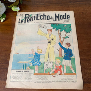 1936 French Fashion Magazine - 21