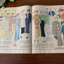 Load image into Gallery viewer, 1936 French Fashion Magazine - 31