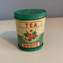 Load image into Gallery viewer, 1940s Small Tea And Sugar Canister