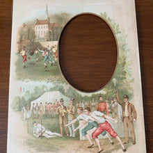 Load image into Gallery viewer, 19th century frame , Foot racing, Football