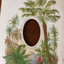 Load image into Gallery viewer, 19th century frame  tropical - single picture