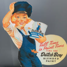 Load image into Gallery viewer, Vintage Dutch Boy Advertising Sign