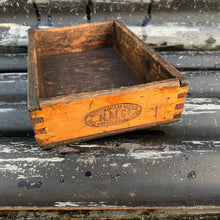 Load image into Gallery viewer, Vintage Wooden Roll Royce Tool Shop Box