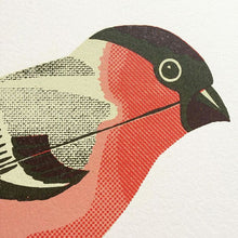 Load image into Gallery viewer, Wind-Up Bullfinch Print