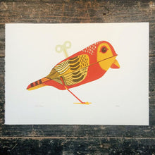Load image into Gallery viewer, Wind-Up Red Bird Print