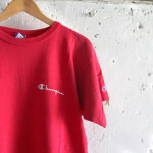 Load image into Gallery viewer, 1980s Vintage T Shirt - Champion Red - Medium