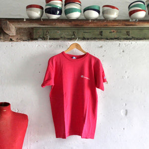 1980s Vintage T Shirt - Champion Red - Medium