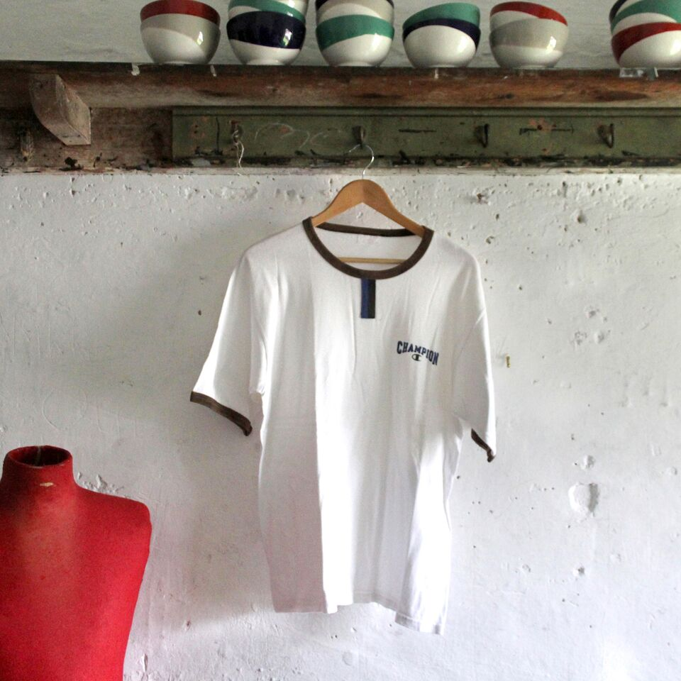 1970s Vintage T Shirt - Champion White