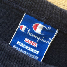 Load image into Gallery viewer, 1980s Vintage T Shirt - Champion Black - L