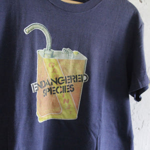 1970s Vintage T Shirt - Endangered Species - L