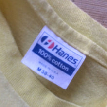 Load image into Gallery viewer, 1980s Vintage T Shirt - Hanes Logo - M