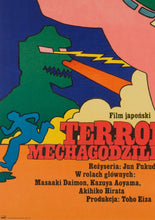 Load image into Gallery viewer, Godzilla vs Mechagodzilla 1977 Polish Film Poster