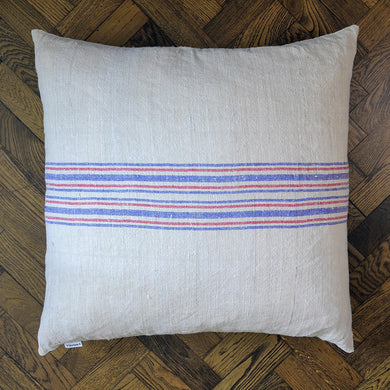 Mondesfield Vintage Hemp Floor Cushion - 2