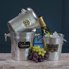 Load image into Gallery viewer, Lanson Metal Champagne Bucket