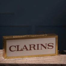 Load image into Gallery viewer, Clarins 1980s Lightbox