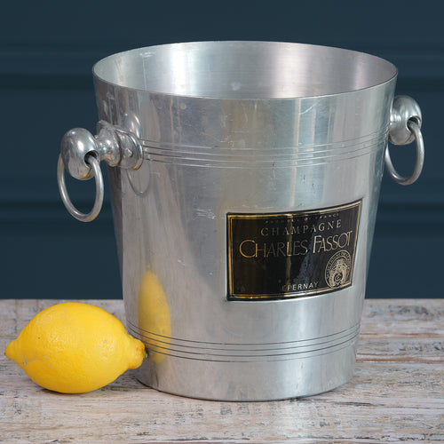 Charles Fassot Metal Champagne Bucket