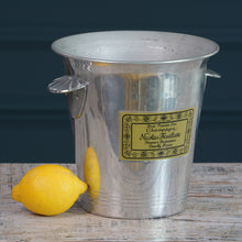 Load image into Gallery viewer, Nicolas Feuillatte Metal Champagne Bucket