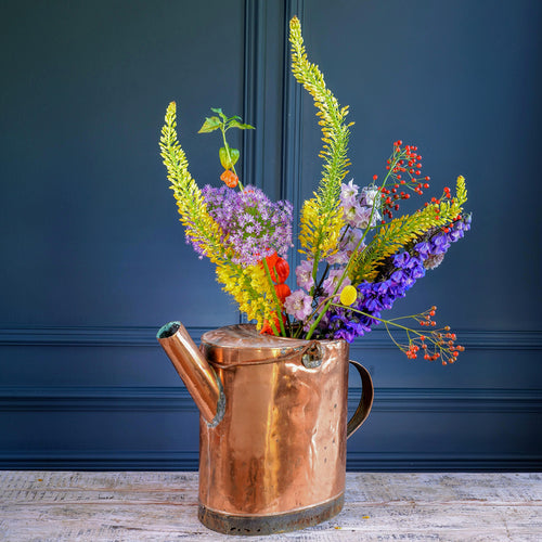 Copper Watering Can with Handle