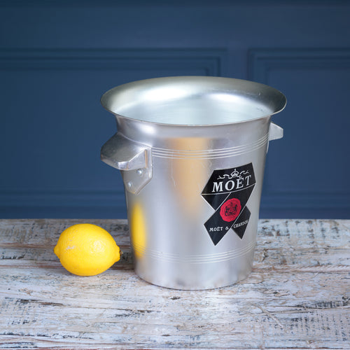 Moet & Chandon Silver Metal Champagne Bucket
