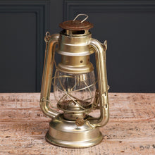 Load image into Gallery viewer, Small Silver Metal Hurricane Lamp