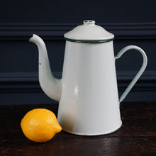 Load image into Gallery viewer, Pale Green Vintage Coffee Pot