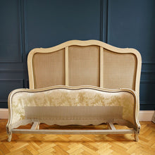 Load image into Gallery viewer, Cream Satin Damask Double Bed