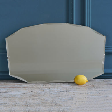 1950s Angular Bevelled Mirror