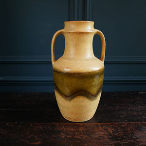 1970s Earthenware Stone Vase