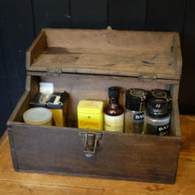 Load image into Gallery viewer, Vintage Shoe Cleaning Box (Central)