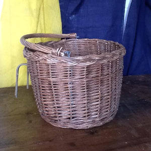 Vintage Wicker Bicycle Basket
