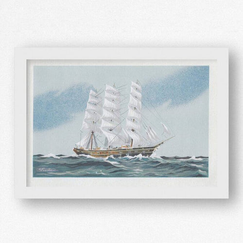 Watercolour on Paper - Sail Away Sail Away
