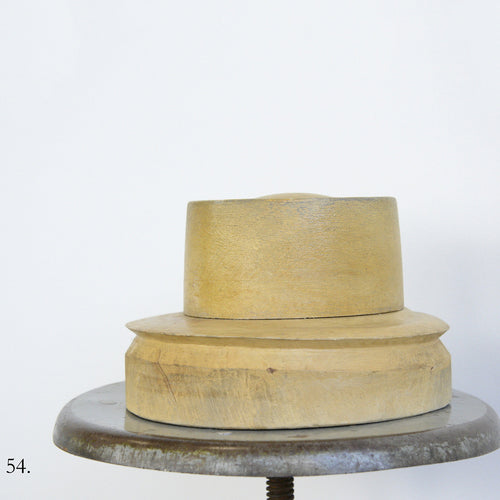 Wooden Factory Hat Form Circa 1930s-54