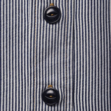 Load image into Gallery viewer, The Workers Shirt - Ticking Stripe
