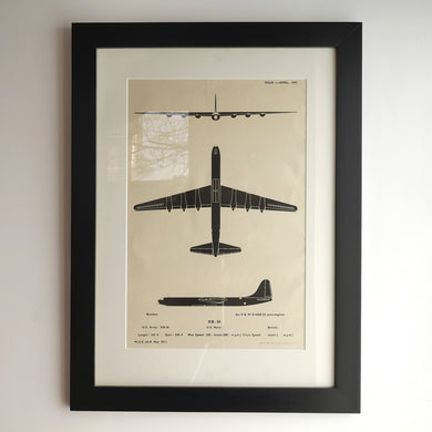 WWII aircraft recognition posters-XB-36