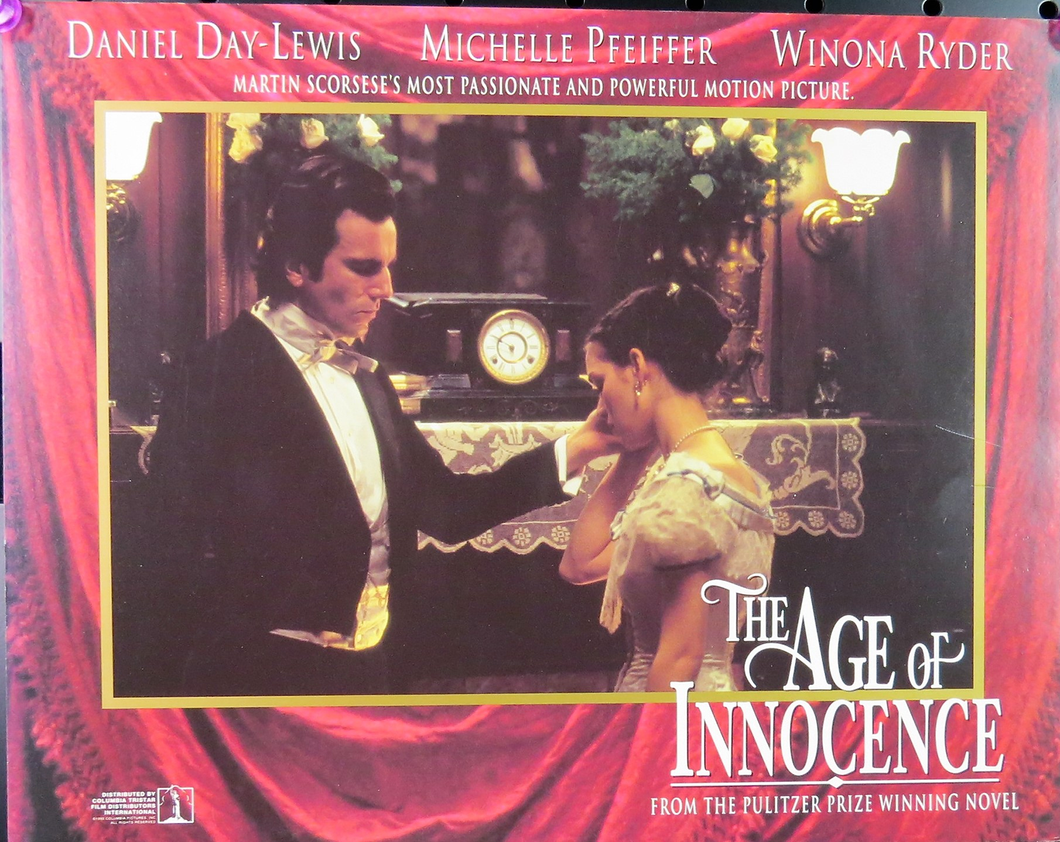 1993 The Age Of Innocence Film Card