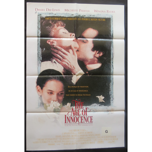 1993 The Age of Innocence Film Poster