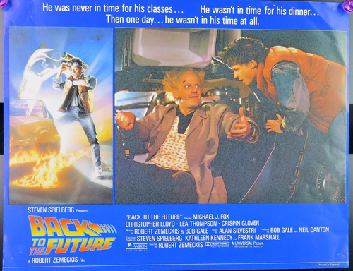 1985 Back to the Future Film Card