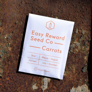 The Easy Reward Seed Co. Autumn King Carrots