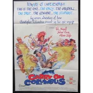 1992 Carry on Columbus Film Poster